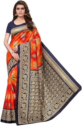 Artificial Silk Mysore Saree