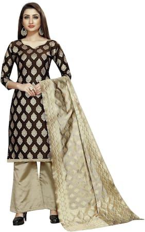 Women Blended Dress Material ,Pack Of Pack of 1