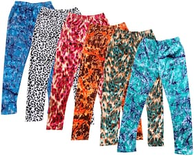IndiStar Polyester Leggings - Multi