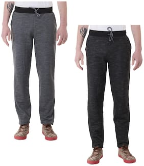 Regular Fit Woolen Track Pants