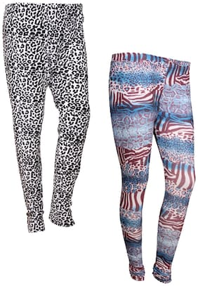 IndiStar Polyester Leggings - Multi