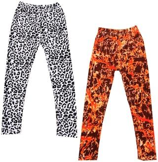 Indiweaves Polyester Leggings - Multi