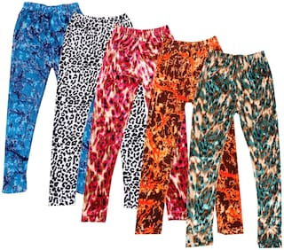 Indiweaves Polyester Leggings - Multi