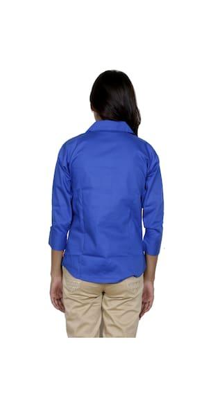 1 Georgette 2 Pack Shirt IndiWeaves Cotton amp; Women's Shirts of 1 a5xCC6wSBq