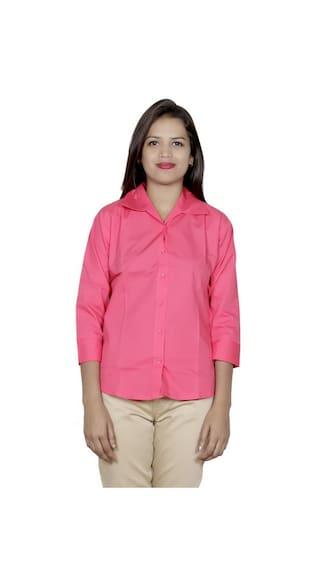 of Cotton Shirt Shirts 2 IndiWeaves 2 Pack Women's qUn4Xwxp