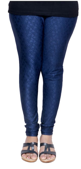 IndiWeaves Women Blue Legging