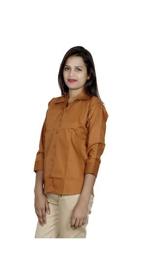 Pack Cotton Shirt of 2 IndiWeaves Shirts Women's 2 qtwEIwxg