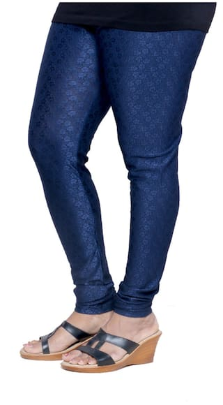 2 Combo Jacquard Legging Women's Of IndiWeaves RwTBXx