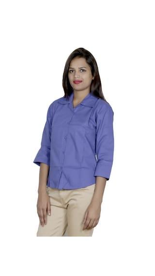 amp; 1 of Women's Cotton 1 IndiWeaves Pack Shirts 2 Georgette Shirt fp4xAtq