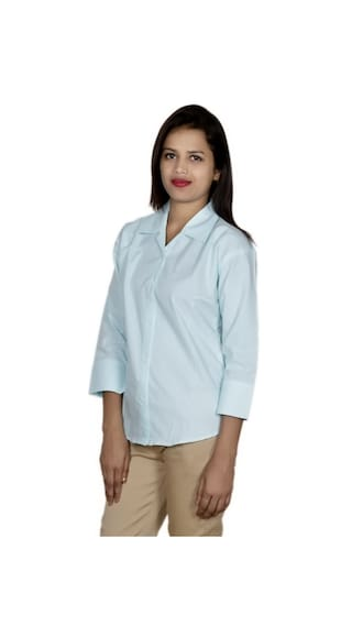 IndiWeaves Shirt Cotton Shirts of 2 Pack Women's 2 xxPqaH7