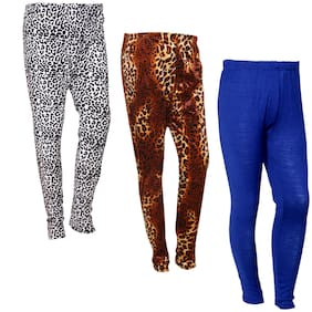 Polyester Solid Leggings