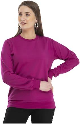 Women Solid Sweatshirt ,Pack Of 1