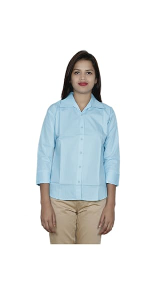 Women's Cotton Shirt 2 IndiWeaves of Shirts Pack 2 1qdEdwAOn