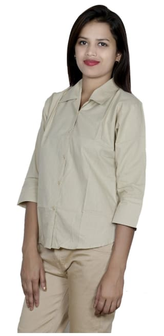 Pack IndiWeaves Shirts Women's of 2 Shirt 2 Cotton xq8FI7