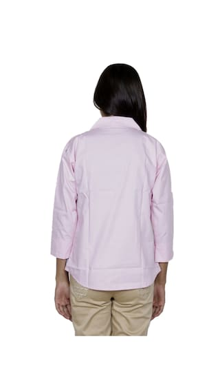 Shirts Women's IndiWeaves Cotton 2 2 Pack Shirt of 0qqfBd