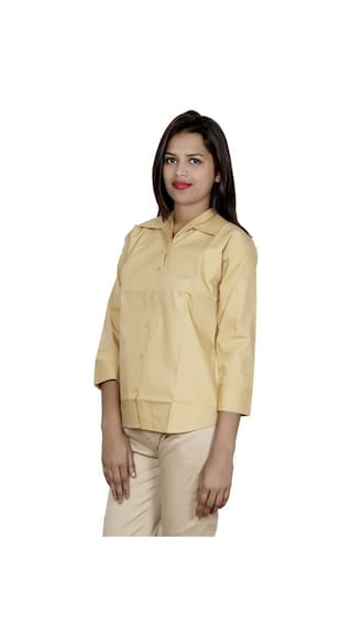 Pack of 2 Shirt Cotton 2 IndiWeaves Women's Shirts wx6gIf6qTX