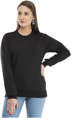 Women Solid Sweatshirt ,Pack Of 1