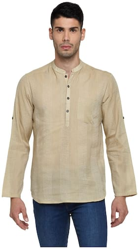 Men Self Design Regular Fit Kurta ,Pack Of Pack Of 1