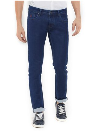 Integriti Men Mid Rise Skinny Fit ( Skinny Fit ) Jeans - Blue