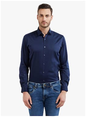 Integriti Men Slim Fit Casual shirt - Blue