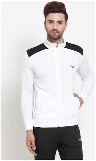 Invincible Polyester Jacket White