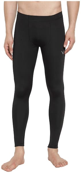 Invincible Polyester Track Pants Black