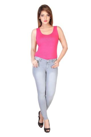 IRAA Latest Grey Skinny Fit Women Jeans