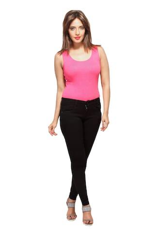 IRAA Latest Ladies IRAA Ladies Black Jeans Jeans IRAA Black Latest FTqrwF