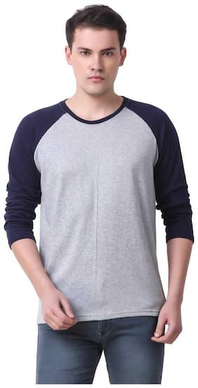 IRONGRIT Casual and Formal T-Shirts for Men's  full Sleeves T-Shirt
