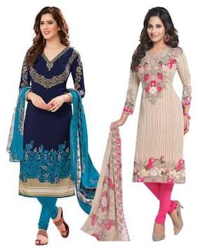 Dress Material - Buy Silk, Cotton Dress Material for Women Online
