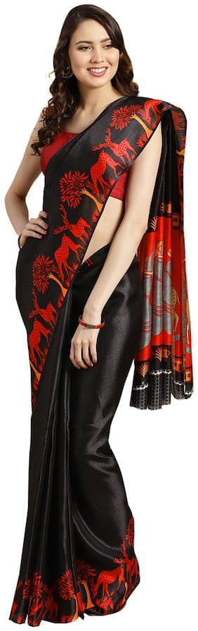 Artificial Silk Dupion Saree
