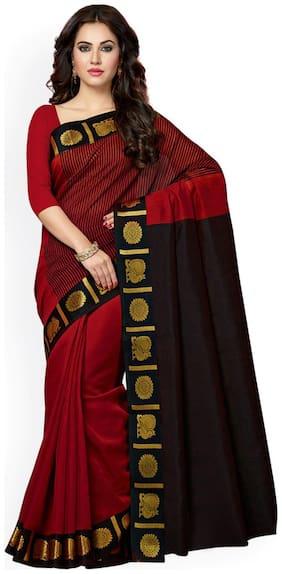 Cotton Blend Bollywood Saree