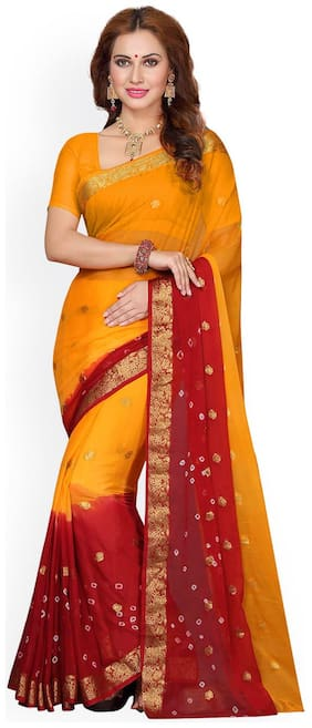 Faux Georgette Bollywood Saree
