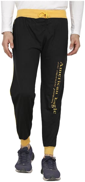 Slim Fit Cotton Track Pants