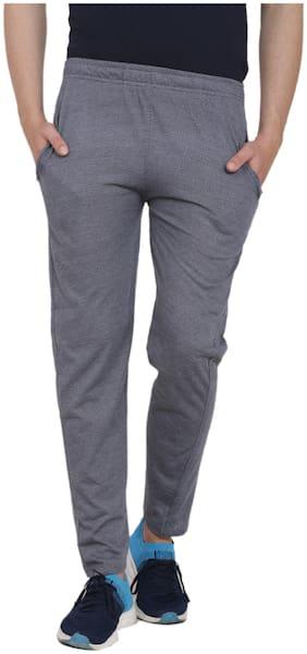 Slim Fit Poly Cotton Track Pants