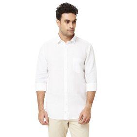 Ivy Boston Blended Slim White Shirts