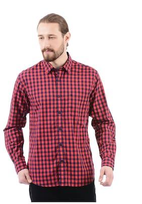 Izod Men Regular Fit Casual shirt - Pink