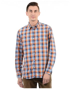 Izod Men Regular Fit Casual shirt - Multi
