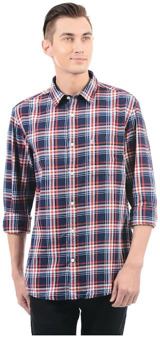 Izod Men Regular Fit Casual shirt - Multi