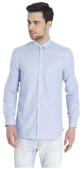 Jack & Jones Men Slim Fit Casual shirt - Blue
