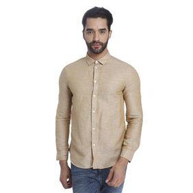 Jack & Jones Beige Slim Fit Shirts