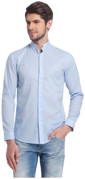 Jack & Jones Men Slim Fit Casual shirt - Blue