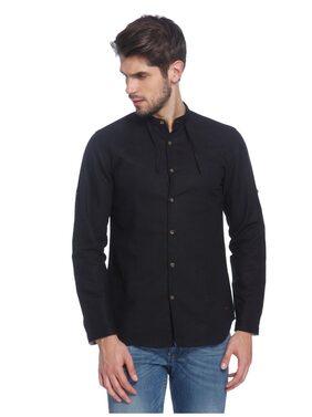 Jack & Jones Men Slim fit Casual shirt - Black