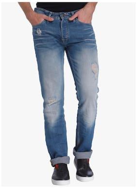 Jack & Jones Men Mid Rise Regular Fit ( Slim Fit ) Jeans - Blue