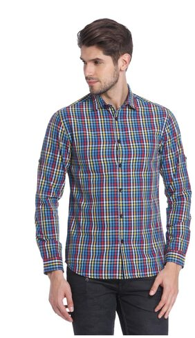 Jack & Jones Men Slim Fit Casual shirt - Multi