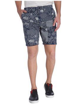 Jack & Jones Men Cotton Shorts - Blue