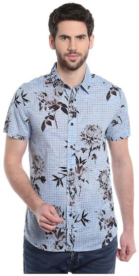 Jack & Jones Men Regular Fit Casual shirt - Blue