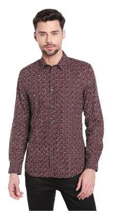 Jack & Jones Men Slim Fit Casual shirt - Maroon