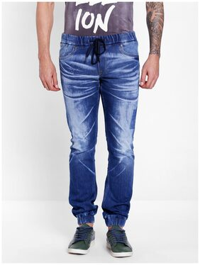 Jack & Jones Men's Mid Rise Regular Fit Jeans - Blue