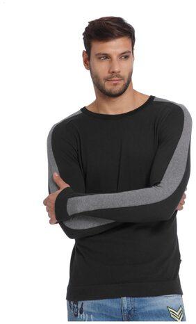Jack & Jones Men Cotton Sweatshirt - Grey